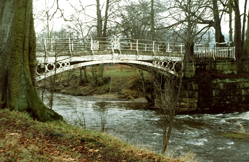 Iron Bridge, Marple, 1963, built by Salford Iron Works