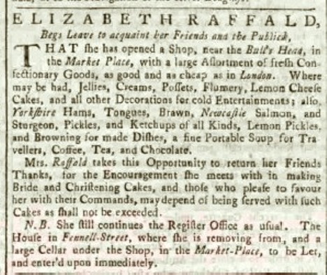 Manchester Mercury Tuesday16 September 1766