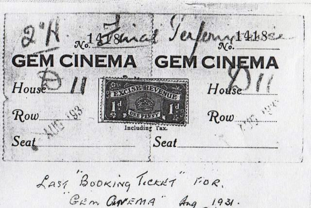 Gem Cinema Last Ticket