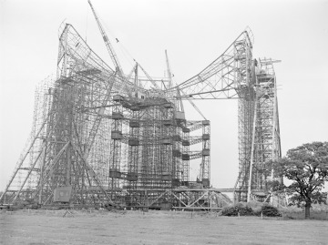 Jodrell Bank Construction