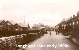 Longhurst Lane early 1900s