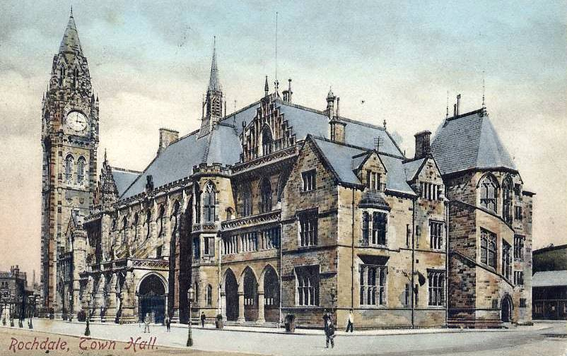 Rochdale Towh Hall 1909