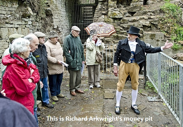 This is Richard Arkwright's money pit